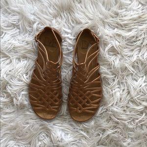 963a2424550d Diane Von Furstenberg Shoes - • DVF • Jaya Love Knot Jelly Sandals Brown 8